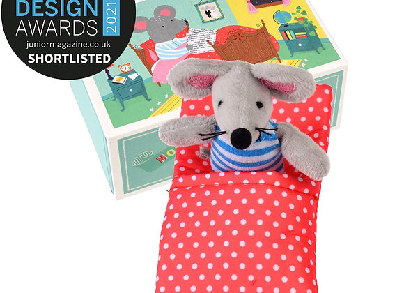 Mouse In A House Soft Toy