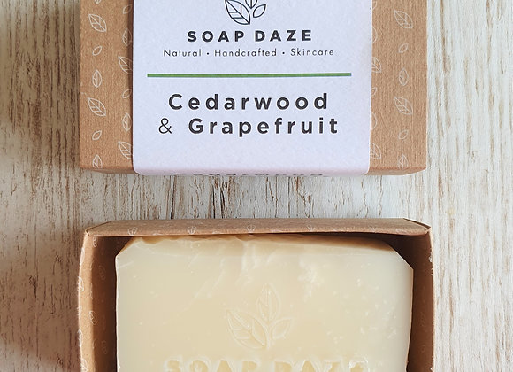 Soap Daze - Cedarwood & Grapefruit Soap