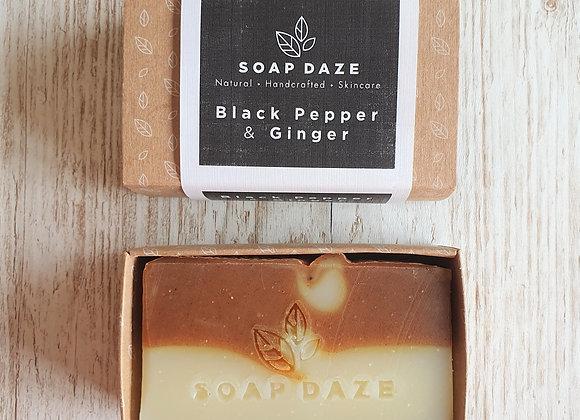Soap Daze - Black Pepper & Ginger Soap