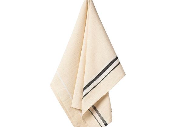 French Stripes - Kitchen Towels - Set of 2 - Black