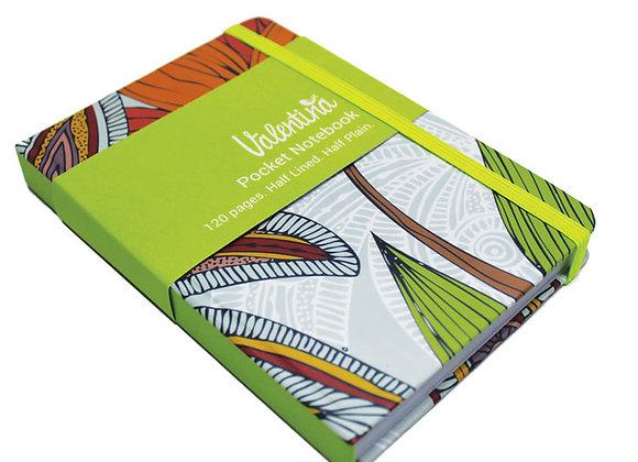 Valentina A6 Pocket Notebook - Lou