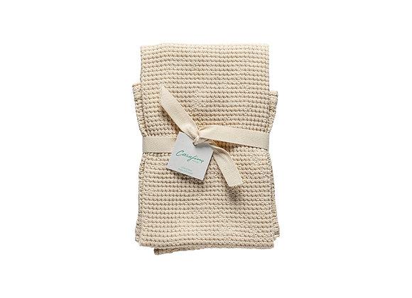 Osteria Kitchen Towel Micro Waffle - Vanilla
