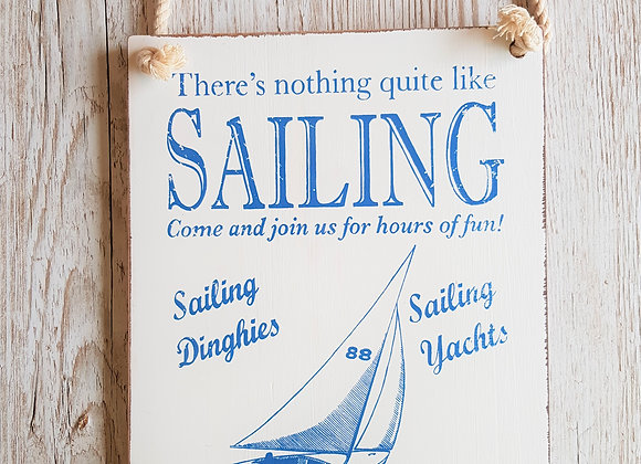 Sailing Sign - By The Sea