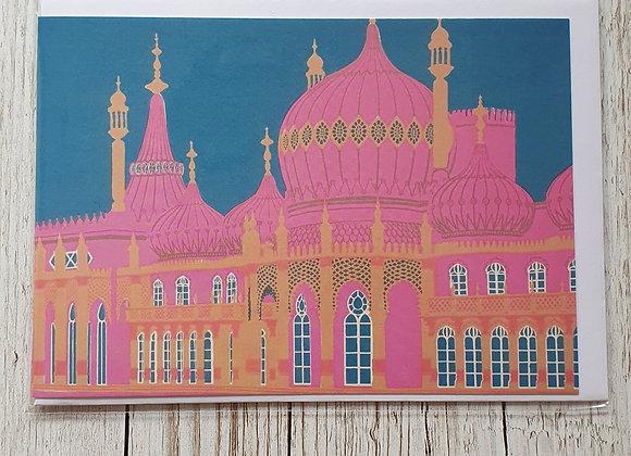 Blank Card - Brighton Royal Pavilion