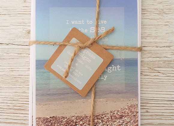 'The Isle Of Wight' Greeting Cards - 4 Pack