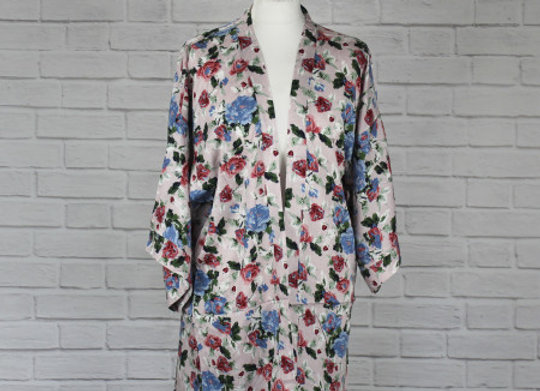 Hiroe Kimono - Pink - One Size