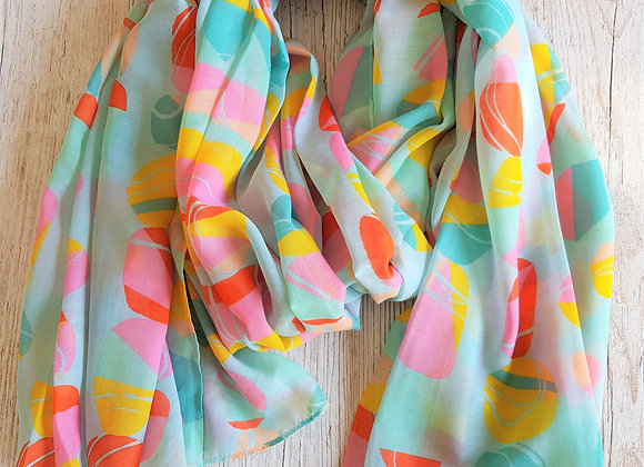 Pebbles Scarf - Turquoise