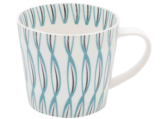 Skane Twist Mug - Teal 350ml