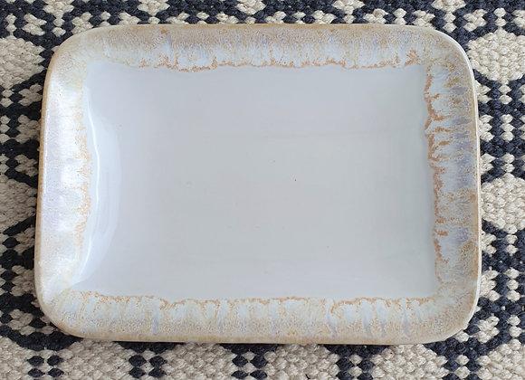 Taormina White Soap Dish