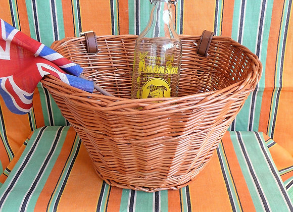 Small Wicker Bicycle Basket