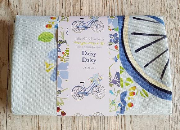 Daisy Daisy Bicycle Apron
