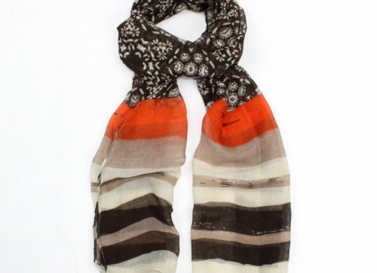 Sarah Scarf - Brown
