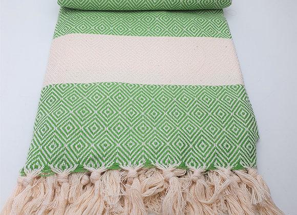 Nordic Hammam Towel - Green