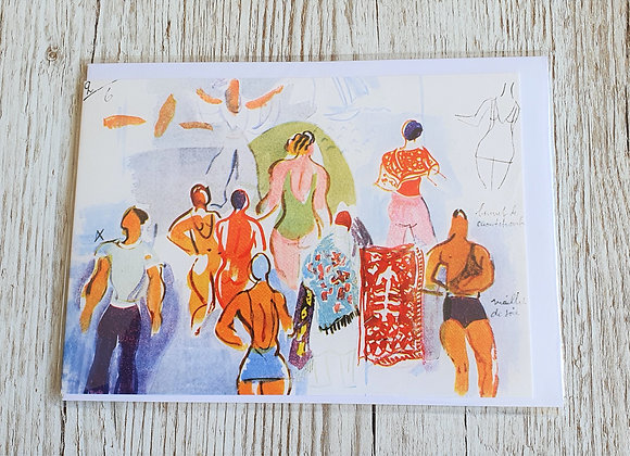 Raoul Dufy Greeting Card