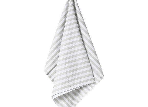 Stripes - Set Of 2 Kitchen Towels - Grey