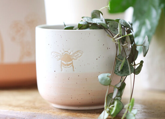 Bee Ceramic Planter