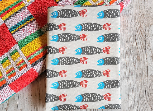Paper Fish Tea Towel