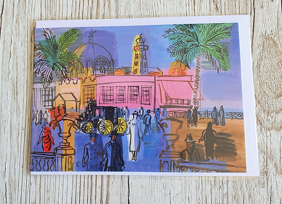 Raoul Dufy Greeting Card