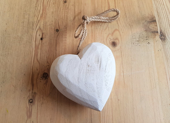 Wooden Heart - Pale Heart Collection