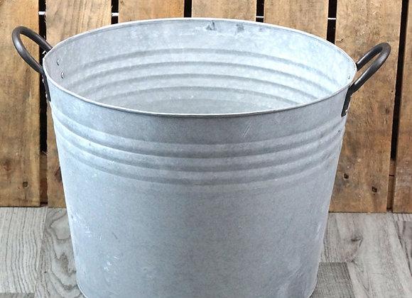 Ribbed Zinc Bucket