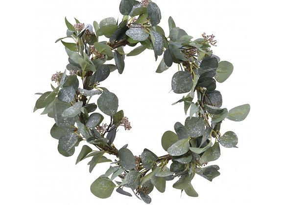 Glitter Eucalyptus Wreath