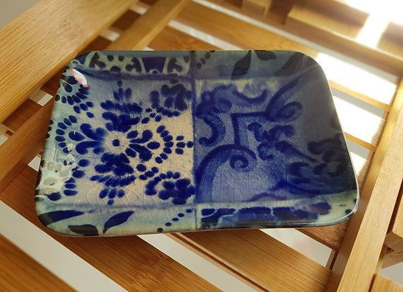 Lisboa Blue Tiles Soap Dish