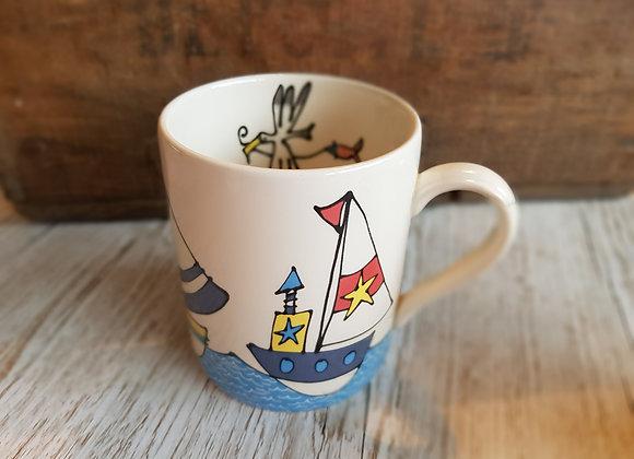 Gallery Thea Boats & Sea Mug