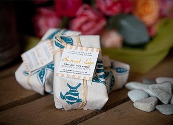 Memories Of The Beach Organic Shea Butter Soap x 1 Single