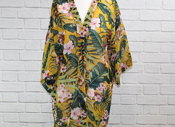 Etsuko Kimono - Yellow