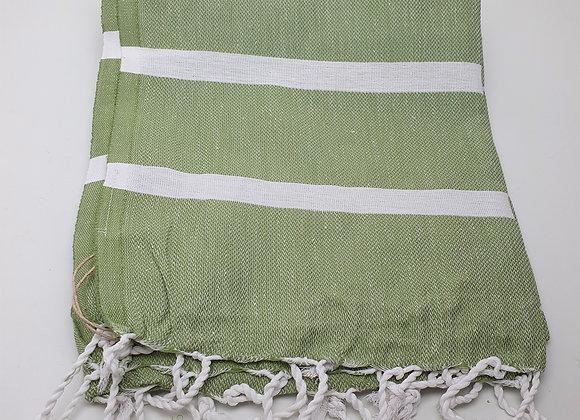 Ibiza Summer Hammam Towel - Olive