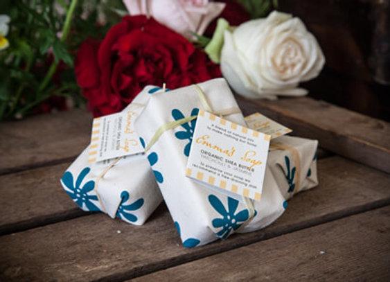 Patchouli & Jasmine Organic Shea Butter Soap 90g  x Single Bar