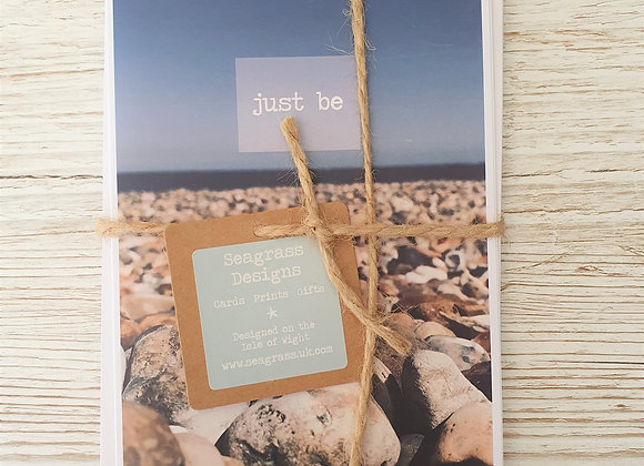 'Just Be' Greeting Cards - 4 Pack