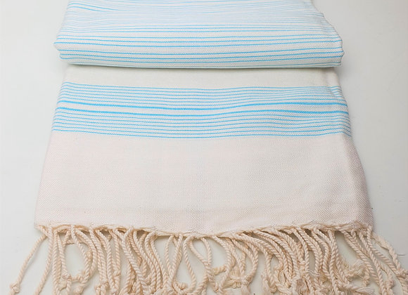 Lamu Hammam Towel - Turquoise