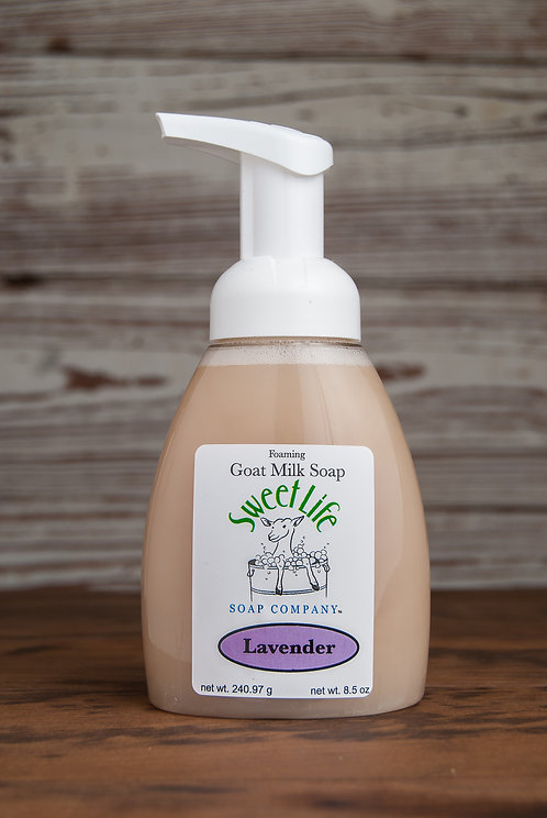 Lavender Foaming Liquid Soap