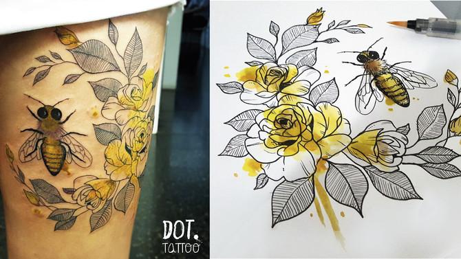 Quero um desenho original para minha tattoo. Por onde começar?