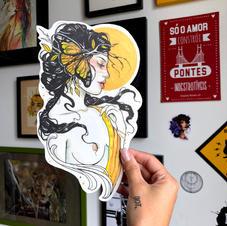 DOT 03 - Yellow Woman