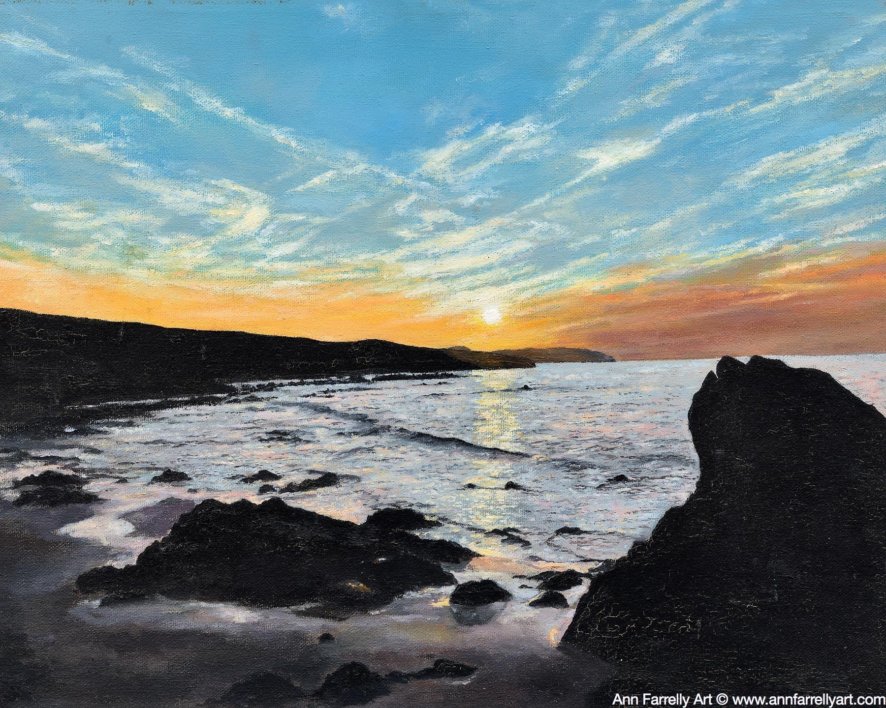 (AF-30) Donegal Sunset