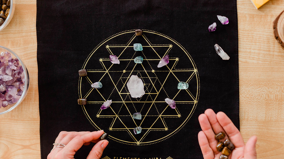 Crystal Grid Mat