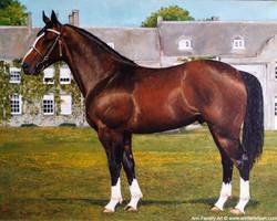 (AF-36) Chestnut Horse (SOLD)