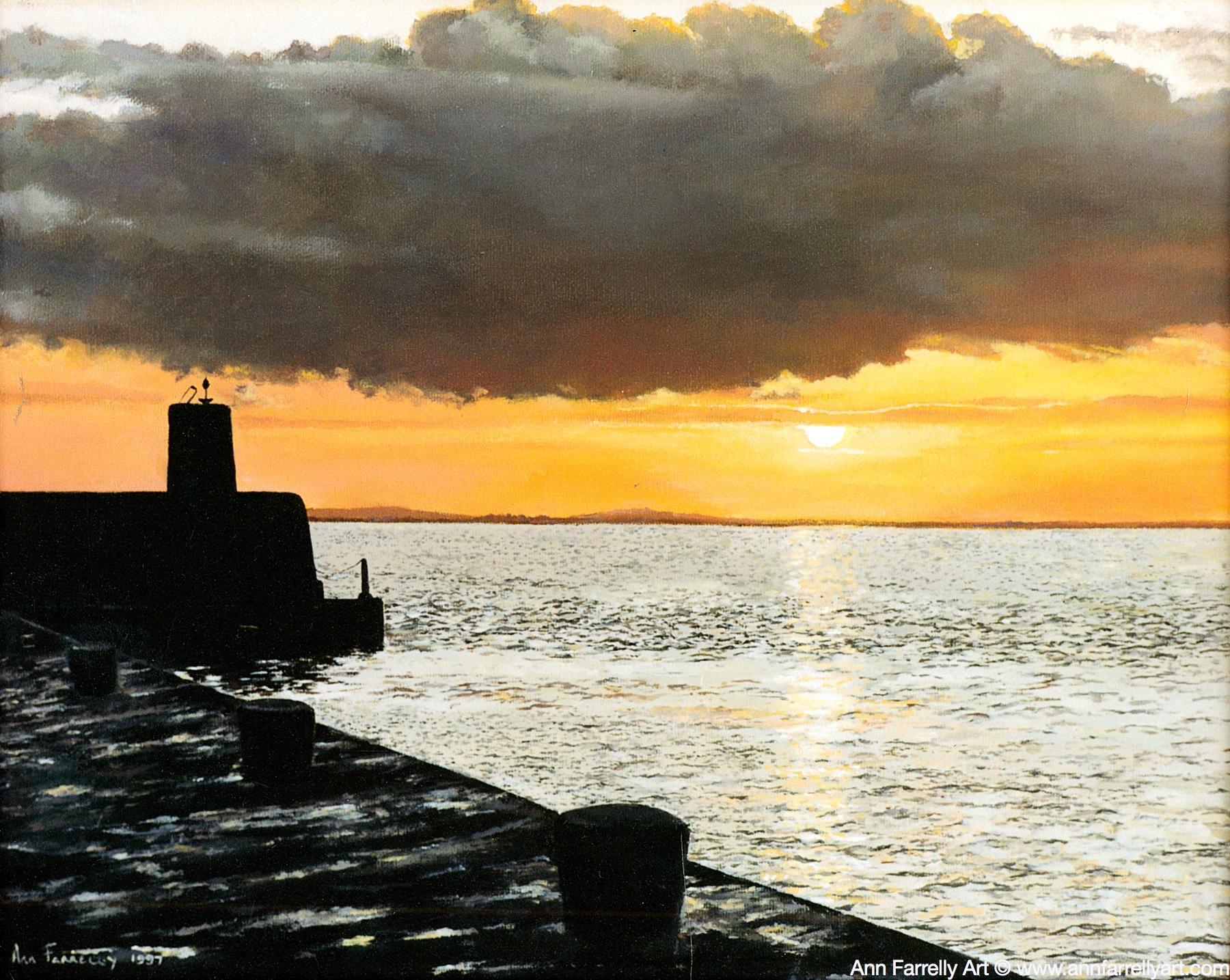 (AF-20) Sunset at Gyles Quay
