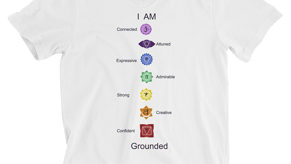 Grounded V-Neck T-Shirt