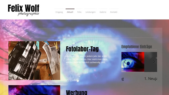 8. Januar Blognews