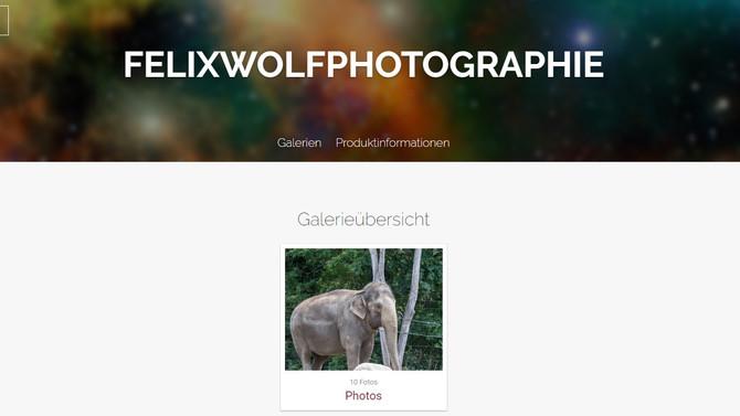 Onlineshop über Pictrs