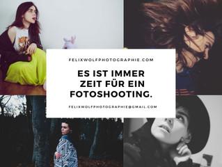 Es ist immer Zeit für ein Fotoshooting