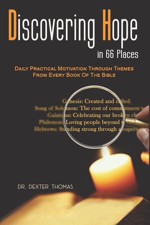 (4 book bundle) Discovering Hope in 66 Places