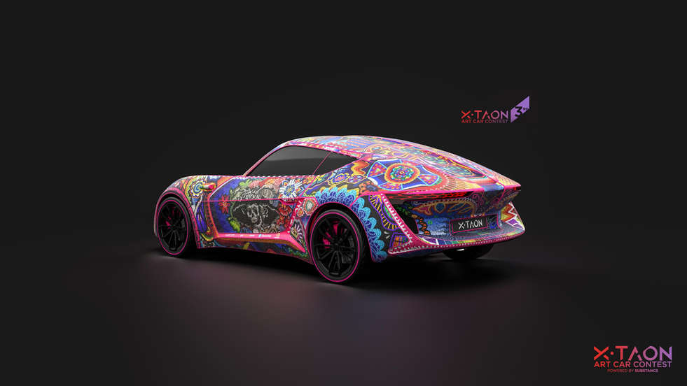 X-TAON Substance Painter Contest 2018
