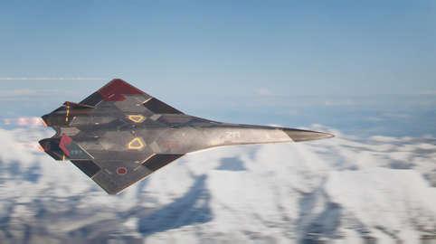Advanced UAV Fighter