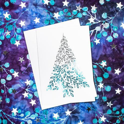 Foil Christmas Gift Cards
