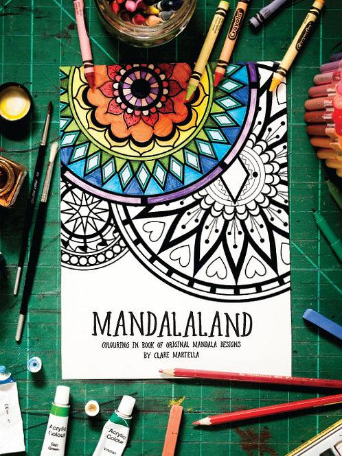 """""""Mandalaland"""" Colouring in Book"""