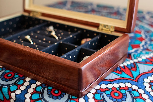 Up-Cycled Jewellery Box
